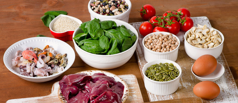 Spotlight on iron in the diet