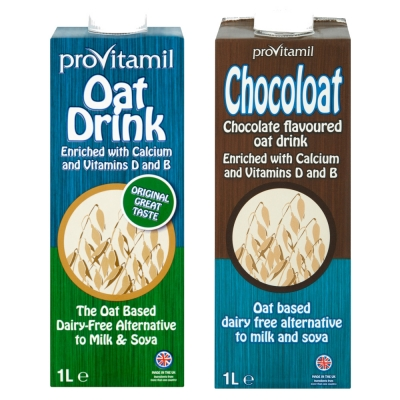 Mixed Case - 6 x Oat Drink, 6 x Chocoloat